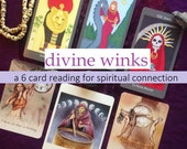 Divine Winks: A 6 Tarot & Oracle Card Reading for Spiritual Connection