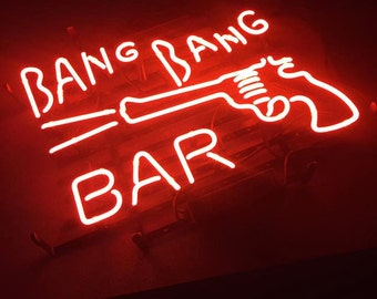 Bang Bang Bar Neon Sign