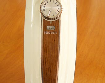 Vintage Sears 12 Speed Solid State Electric Hand Mixer