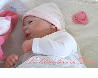 Baby reborn hyper-realistic eyes open to order