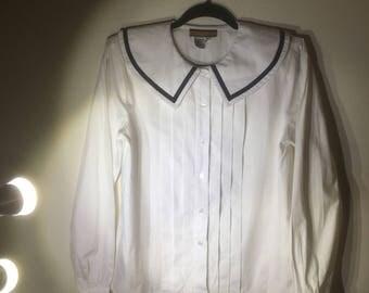 the blushing sailor blouse