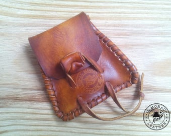 Leather purses, handmade, unisex, gift for him, gift for her, purses, purse unisex