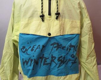 Vintage Ocean Pacific Men's Pullover Jacket - OP Wintersurf - Men's XL