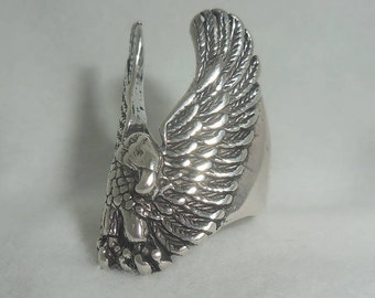 Vintage Winged Eagle Ring
