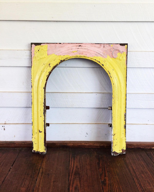 fireplace mantel fireplace surround art deco decor cast iron
