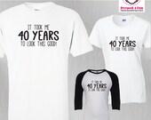 Birthday Shirt 40 Years t...