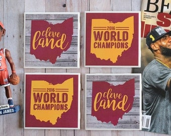 Cleveland Cavaliers Coasters, Father's Day, Ohio Coasters, Cleveland Coasters, Cavaliers Coasters, Cleveland Champions, Ohio, Cleveland,