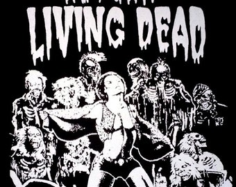 BACK PATCH - The Return of the Living Dead canvas HORROR - Tarman More Brains Zombie