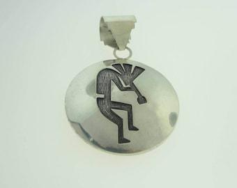 Antique Tribal Talisman Pendant- Sterling Silver