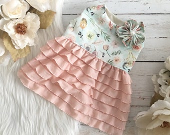 dog clothes, dog dress, puppy dress, dog outfit, puppy outift, puppy clothes, Willow