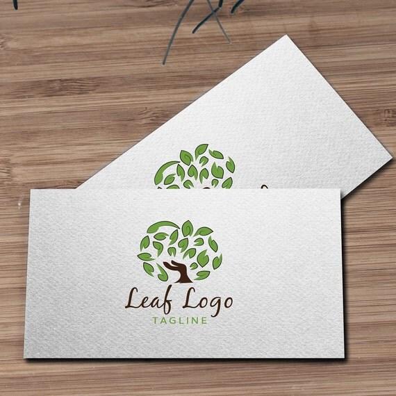 arbre de logo logo feuille logo bio logo vert logo