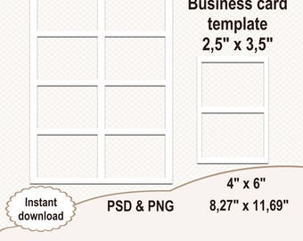 printable template etsy