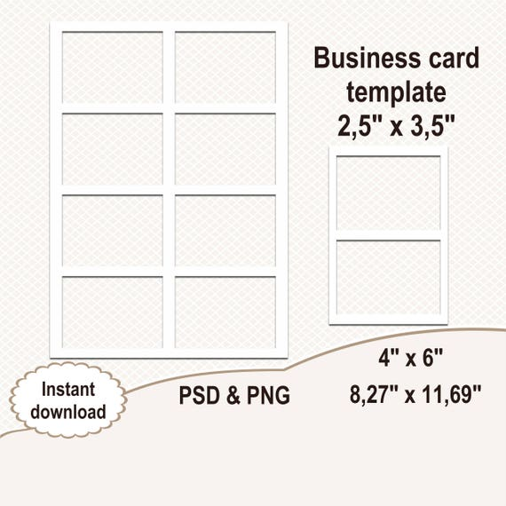 business card template blank template digital template collage