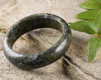 6.3cm JADE Bangle Bracelet from Burma - Jadeite Bangle - Jade Jewelry Stone Bracelet 28022