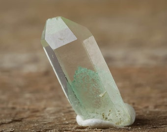 10g Lot Mini GREEN PHANTOM QUARTZ Crystals Points - Green Phantom Crystal, Green Quartz, Raw Quartz Point, Raw Quartz Jewelry Making E0068