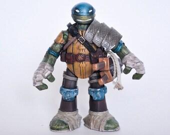 Samurai Teenage Mutant Ninja Turtle Leonardo Custom Figure