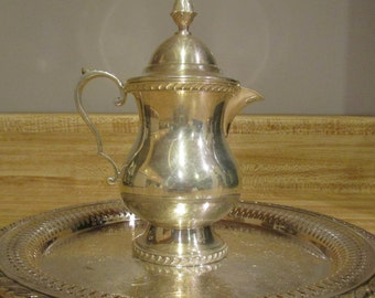 Vintage Wallace Melford Silver Creamer with Lid