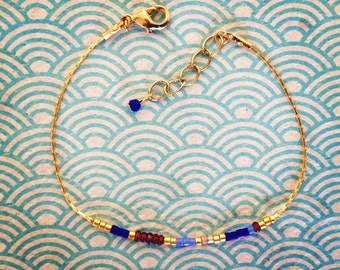 "Bracelet ""Hummingbird"" miyuki beads"