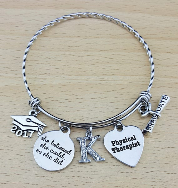 Physical Therapist Gifts Physical Therapy Gifts College Graduation Gift Graduation Gift Senior Gifts Senior 2017 She Believed She Could
