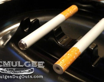"3"" Cigarette Pipe, One Hitter, Dugout Pipe, Metal Bat - Fits a regular 4"" Dugout"