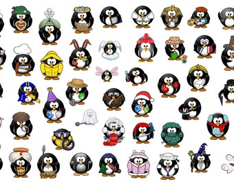 penguin planner stickers