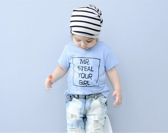 Toddler Boy Shirt, Baby Boy Shirt, Mr. Steal Your Girl, Boy Shirt, Steal Your Girl Shirt, Toddler Boyfriend Shirt, Toddler Boy, Baby Boy