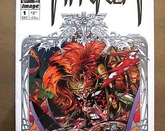 ANGELA #1 Comic Book -1994 - Very Fine Condition