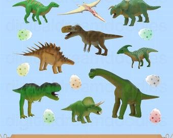 Dinosaur Clipart, Dinosaur Clip Art, Dino Clipart, Dino Egg Image, Dinos Scrapbook, Reptile Graphic, Perhistoric, Jurassic Digital Download