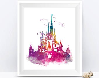 Disney Art Etsy