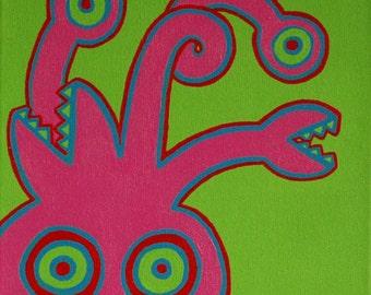Monster sticker set by Kendra Sartorelli