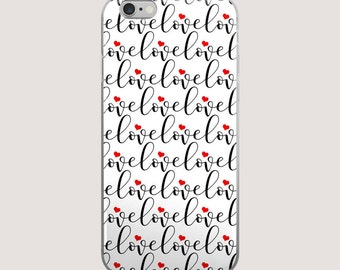 Love iPhone Case | iPhone 5/5s/SE | iPhone 6/6s | iPhone 6 Plus/6s Plus |  iPhone 7 | iPhone 7 Plus