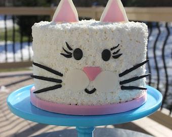 Cat Cake Topper, Cat Birthday Cake, DIY Cat Cake, Cat Birthday Cake Topper, Cute Cat Cake Topper
