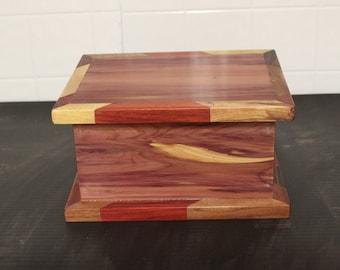 colorful Cedar box