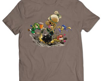 The Legend of Zelda: Tri Force Heroes Skeleton T-shirt