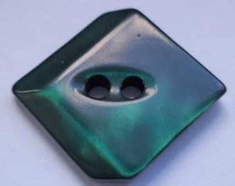 12 dark green BUTTONS 16mm (3452) button green jacket buttons