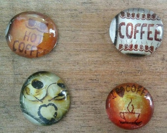 Coffee Magnets - Coffee Lover Magnets - Birthday Gift
