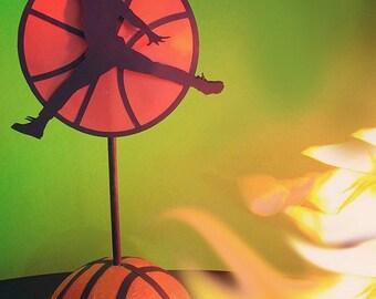 Basketball Air Jordan Centerpieces Set of 2