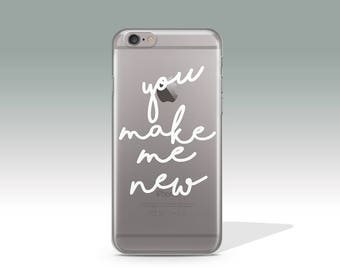 You Make Me New iPhone 7 Plus Case iPhone 7 Case iPhone 6 Case iPhone 6s Plus Case iPhone 6 Plus Valentine's Day Gift Birthday Gift //366