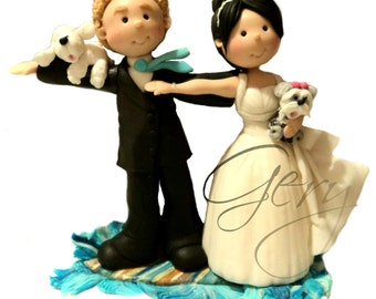Bride and groom custom for cakes for weddings