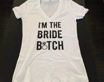 Bachelorette T-Shirt for the Bride