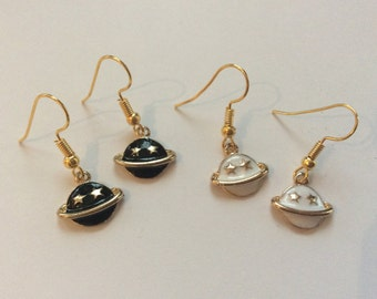 planet saturn earring - photo #42