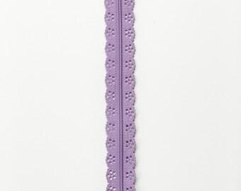 Purple Zipper - 12 Inch Zipper - Sewing for Children - Lace Zipper - Handbag Zipper - Bag Zipper - Bag Sewing - Sewing Notions - YKK Zippers