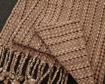 Alpaca Wool Scarf (16SCL-014)