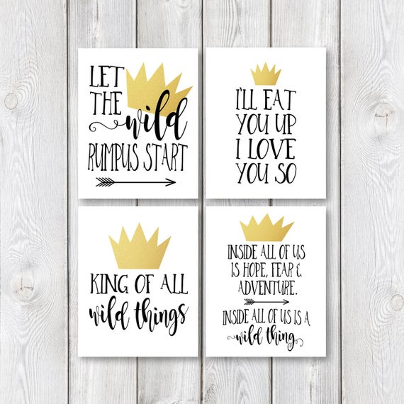 Where The Wild Things Are Birthday Party Printable