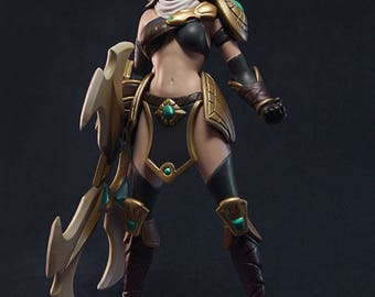 League of Legends | Figure Sivir | LoL | Statuette Sivir | Figurine Sivir