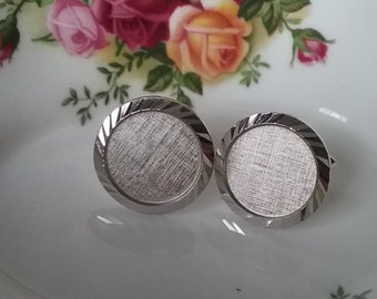 Vintage Mens Swank Cufflinks, Mens Cuff Links, Mens Jewelry, Cuff Links for Groom, 1980s, Gifts for Dad, Retro Jewelry, Cuff Links for Men