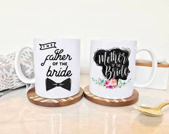 Father of the Bride Mug, Mother of the Bride Mug, Father of the bride Gift, Mother of the Bride Gift, Mother of the Bride, Wedding Mugs, Mug