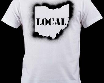 LOCAL OHIO Sprayed Shirt