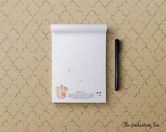 Hogwarts House Notepad