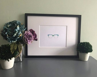 Pair of Glasses 8x10 Print